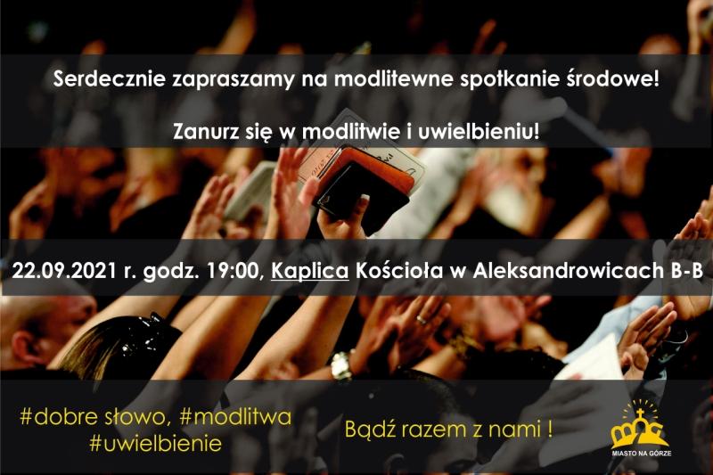 Spotkanie modlitewno-uwielbieniowe 22.09.